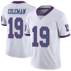 Corey Coleman New York Giants Men's Limited Color Rush Nike Jersey - White