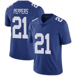 Jabrill Peppers New York Giants Men's Limited Team Color Vapor Untouchable Nike Jersey - Royal
