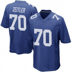 Kevin Zeitler New York Giants Youth Game Team Color Nike Jersey - Royal