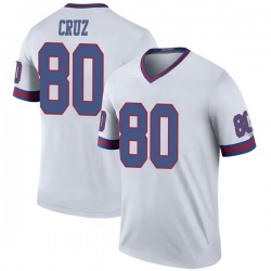 Victor Cruz New York Giants Men's Color Rush Legend Nike Jersey - White